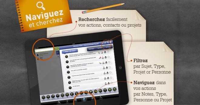app de gestion de projet iPad et de management - Beesy