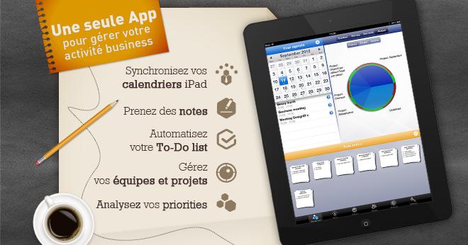 Utiliser app iPad Beesy : Dirigeant en entreprise du secteur de l'énergie