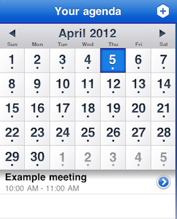 use your iPad Calendar app for note taking - calendar