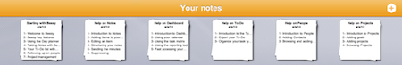 use your iPad Calendar app for note taking - last notes
