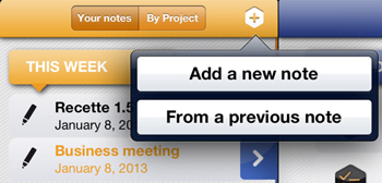 New release for one of the best note-taking apps for iPad: Beesy 1.50 is available !