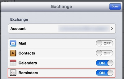 Beesy - Sync reminders with outlook tasks iPad
