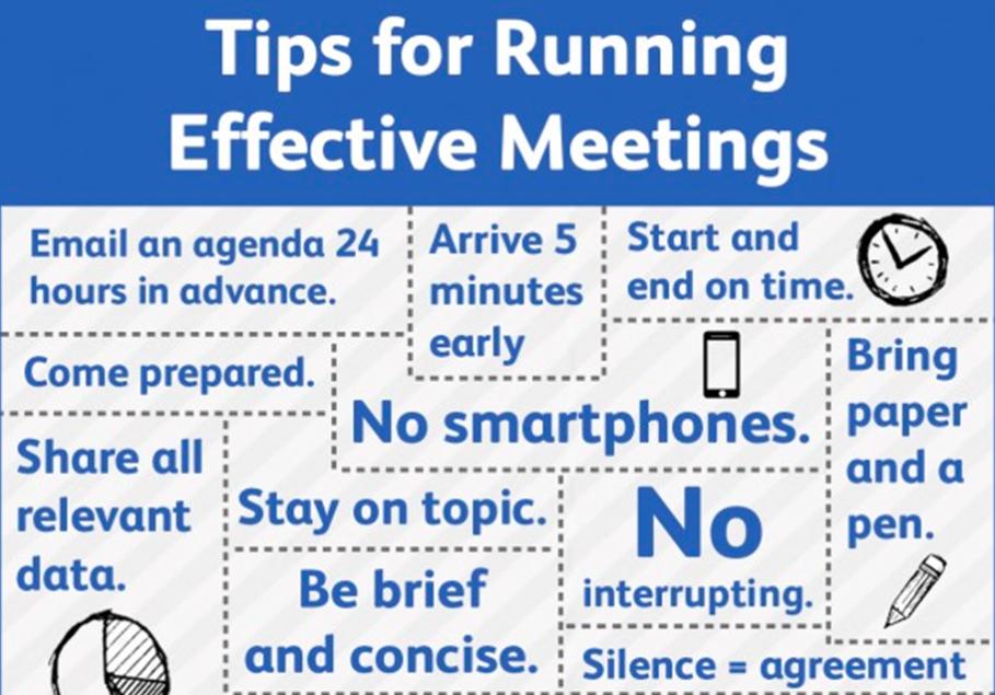 6 Ways To Run Effective Meetings