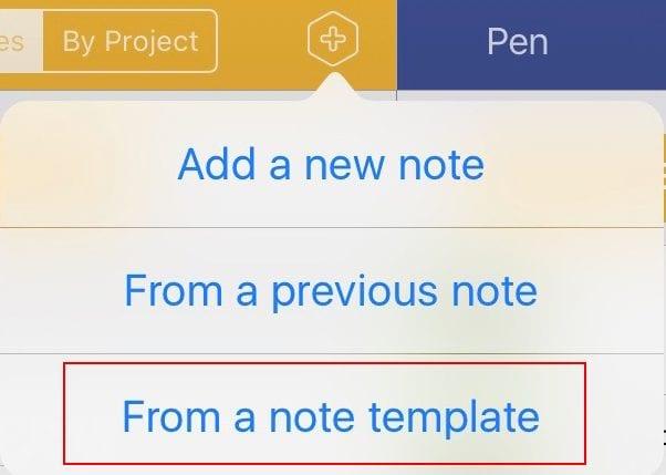 Notes Templates