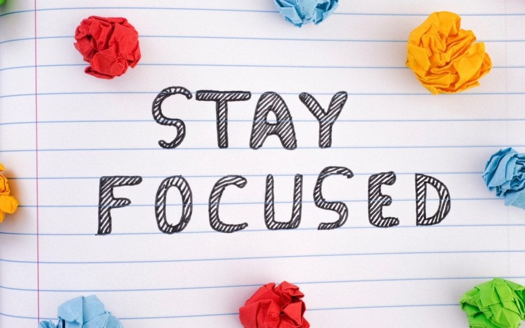 6 Steps To Stay Focused At Work