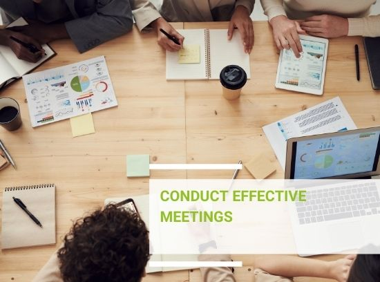 How to conduct a meeting and structure meeting minutes