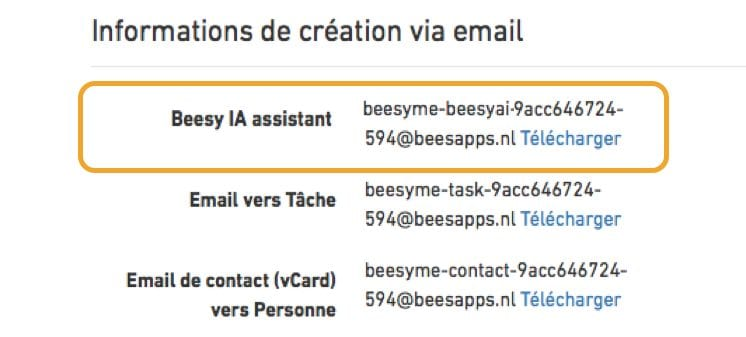 Beesy IA assistant - Chatbot Beesy