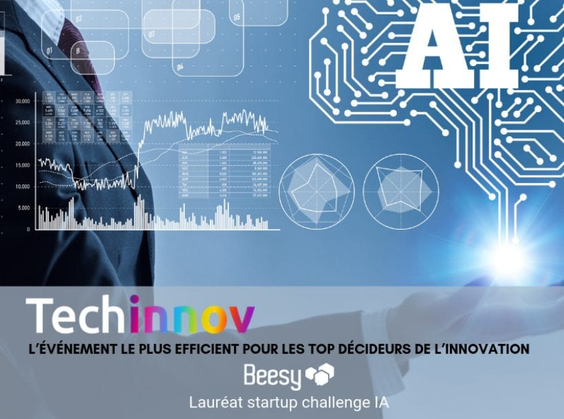 BeesApps – Lauréat Start-up challenge IA – Evénement Techinnov 2019
