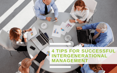 4 tips for successful intergenerational management