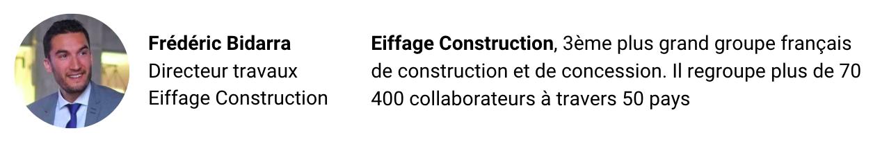 Témoignage réussite client Eiffage - Beesy