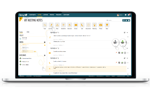 Beesy professional meeting software
