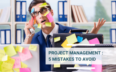 Project Management: 5 Mistakes to Avoid and How to Face them