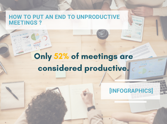 [Infographics] How to put an end to unproductive meetings?