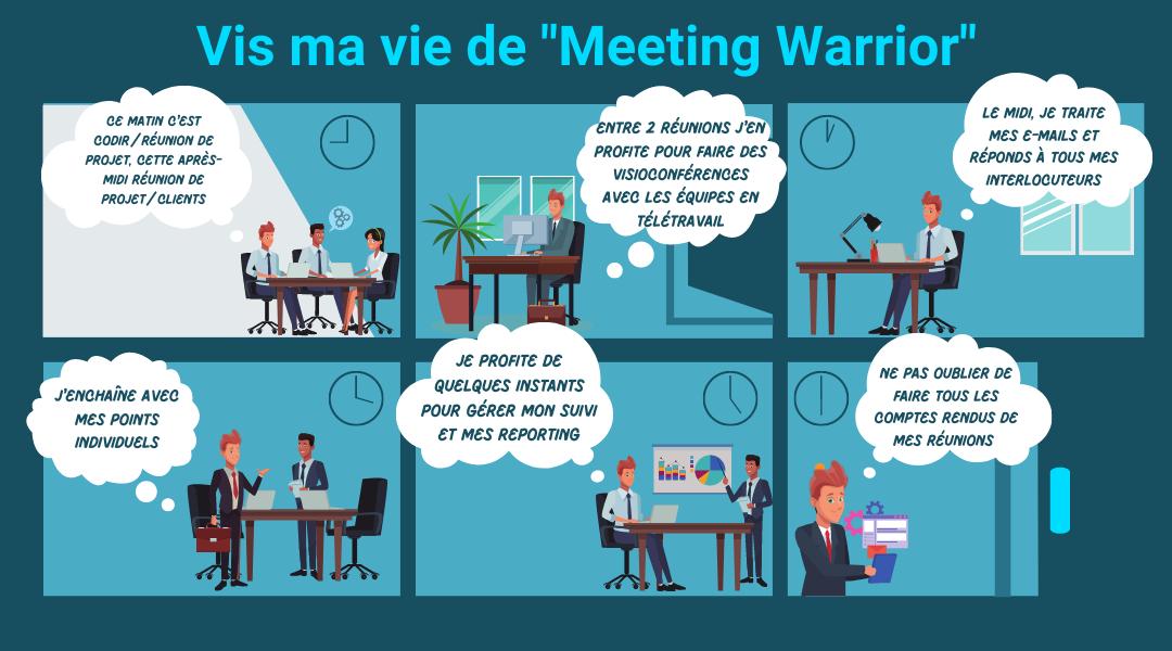 gérer ses réunions au quotidien