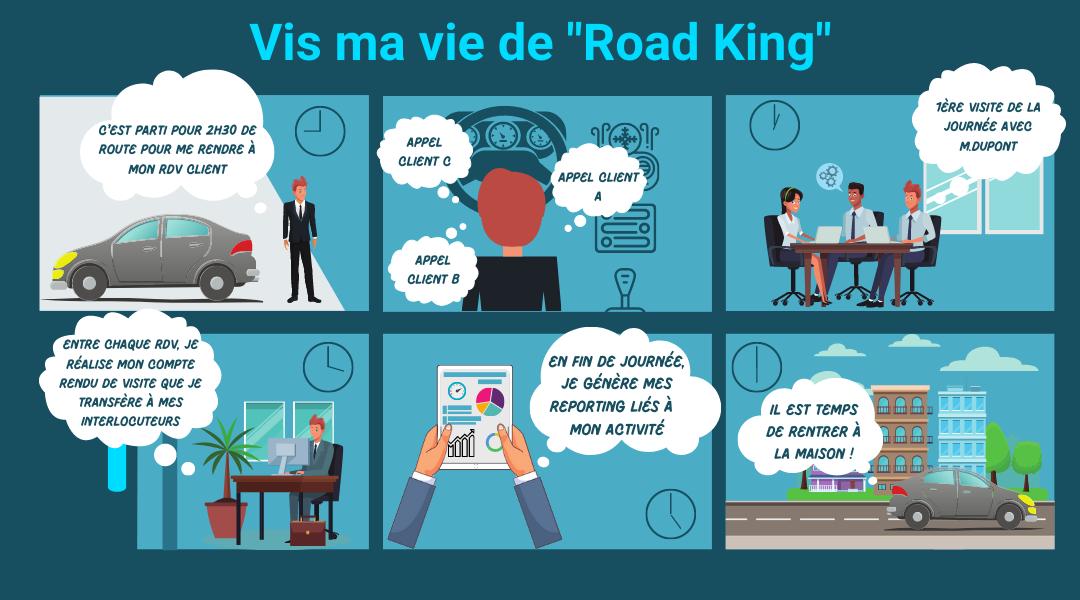 profil de personnalité professionnelle road king