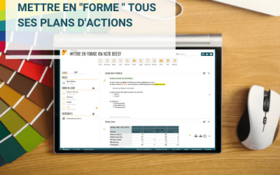 Vos notes prennent forme avec Beesy