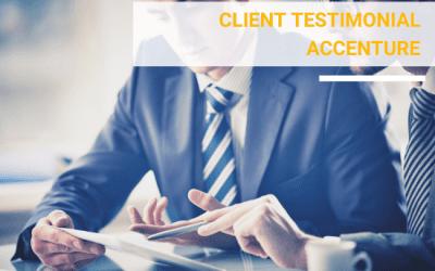 Accenture Client Testimonial